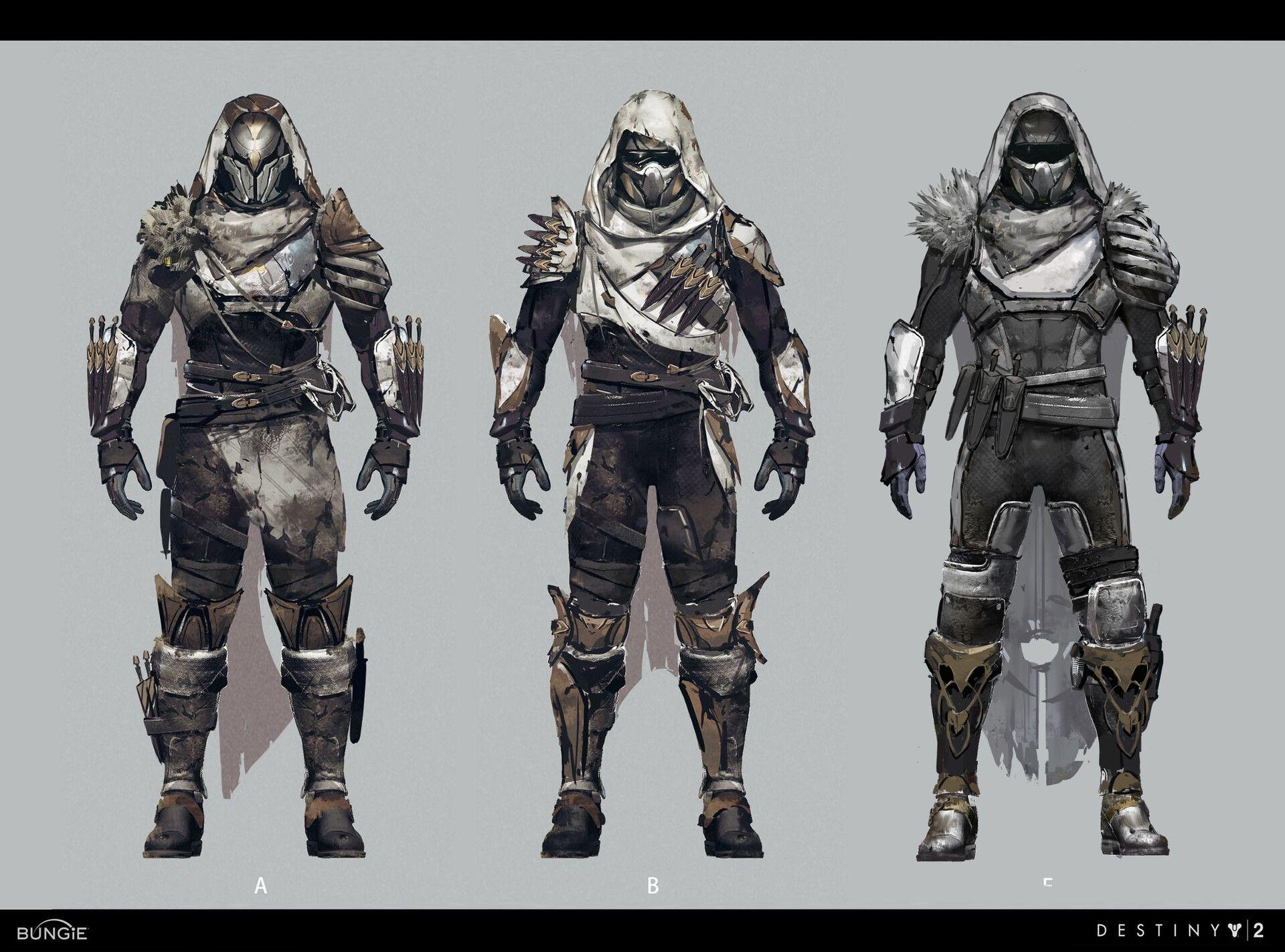 Neoteric kiyot armor for destiny 2 by Zaki Zou | Destiny in