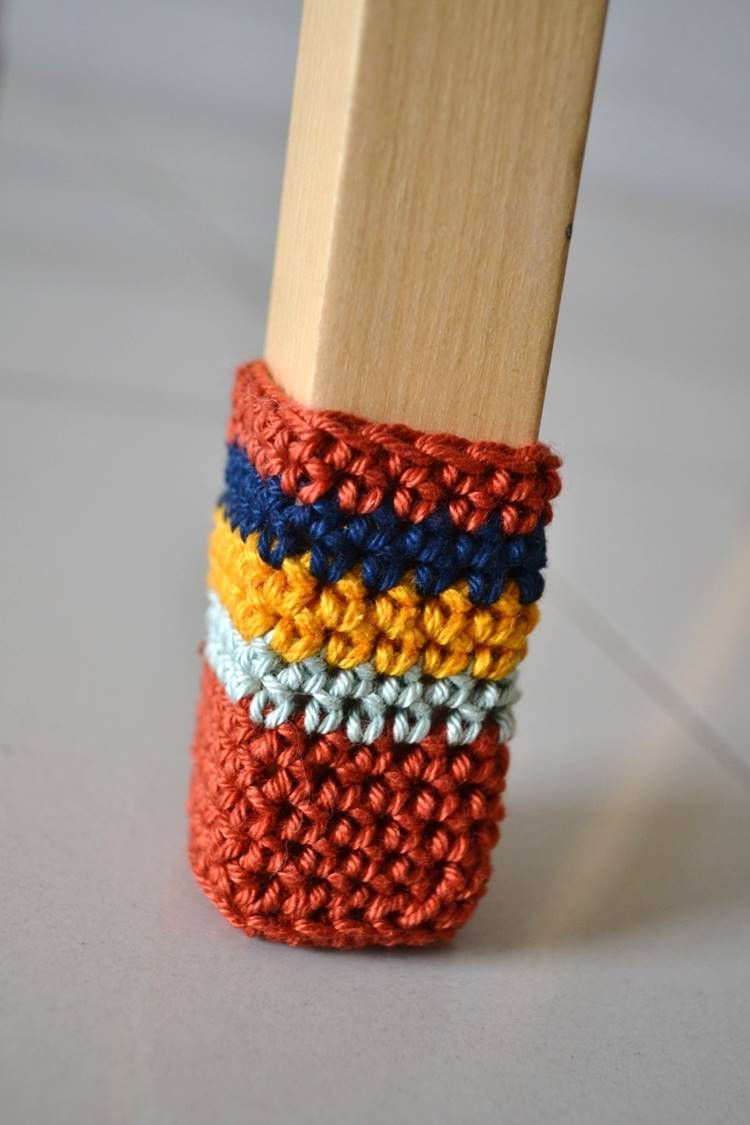 Crochet Chair Socks Pattern  Knitting with Chopsticks in 10