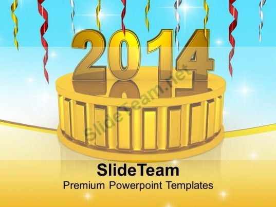 New year 2014 on golden podium powerpoint templates ppt backgrounds new year 2014 on golden podium powerpoint templates ppt backgrounds for slides 1113 powerpoint templates themes background pinterest toneelgroepblik Gallery