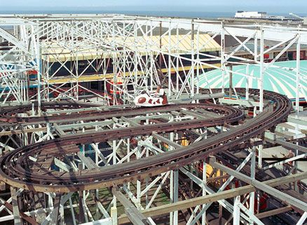 Blackpool pleasure beach wild mouse what that