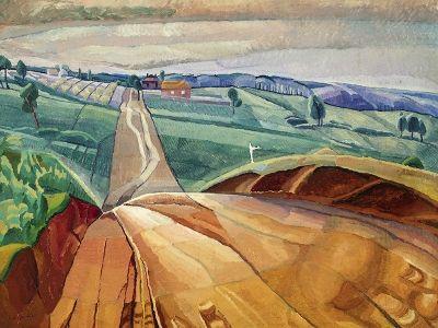 O Keeffe Preston Cossington Smith Making Modernism Exhibition
