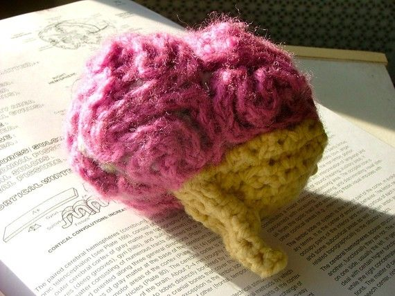 Brain Crochet Plush