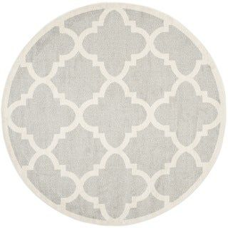 Safavieh Amherst Blanch Modern Indoor Outdoor Rug 9 X 9 Round