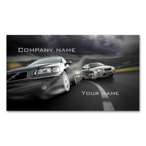 Stylish automotive business card business cards business and cards stylish automotive business card reheart Image collections