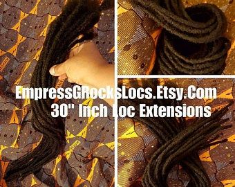 Dreadlock Extensions Human Hair Loc Extensions Ombre Dreadlocks 10 Inch Permanent Style 10 Locs Per Pack Dreadlock Extensions for Sale #humanhairextensions