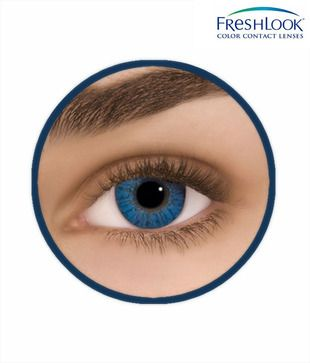 9912721167 FreshLook Monthly Disposable Brilliant Blue Lenses | Contact Lenses ...