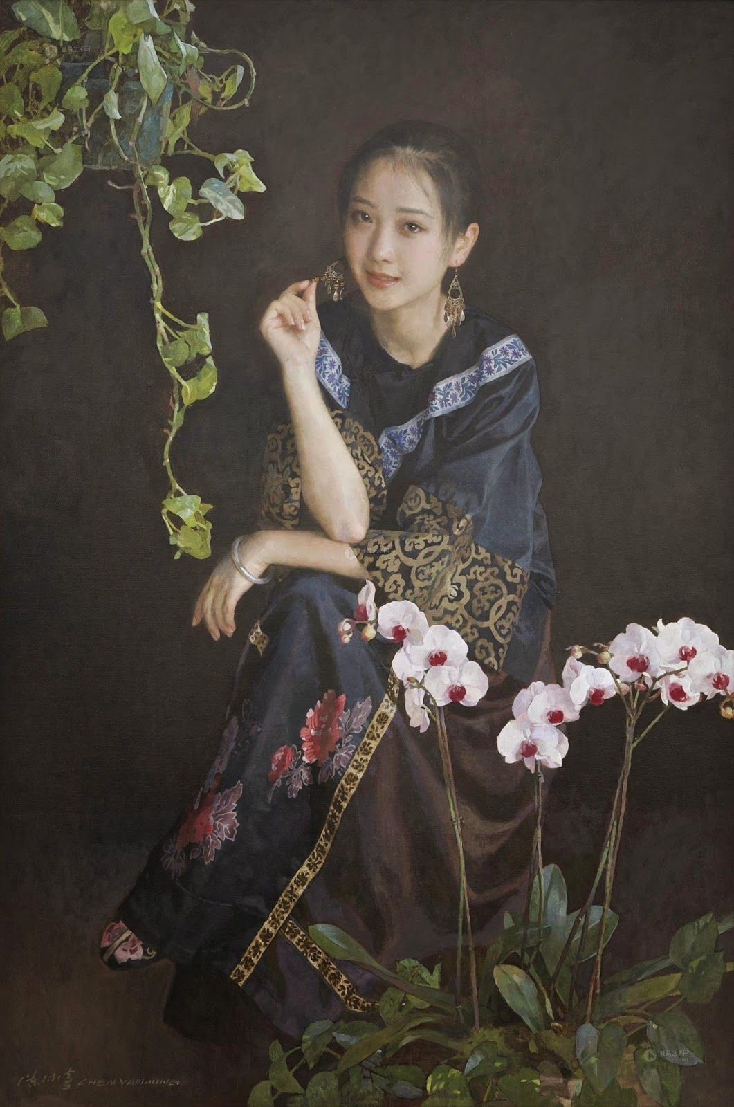 рассказать фото картин китайских художников вопрос