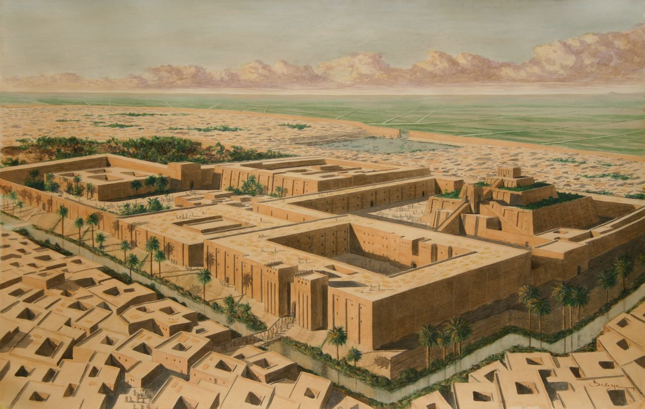 Early Near East Architecture Mesopotamia Bc Restored