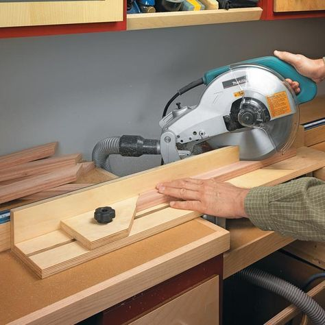 picture frames and often use my miter saw to cut the frame pieces ...
