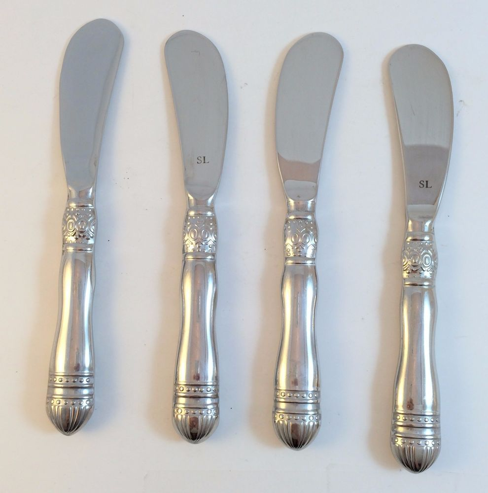 Southern Living At Home Gallery Flatware Spreaders Set Of 4 Retired Southernlivingathome