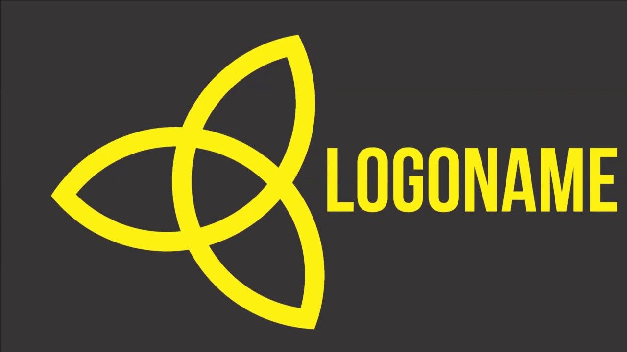 How to make Logo in coreldraw x8 | How to draw logo step by