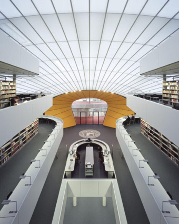 Biblioteca filol gica de la universidad libre de berl n for Architektur studieren nrw