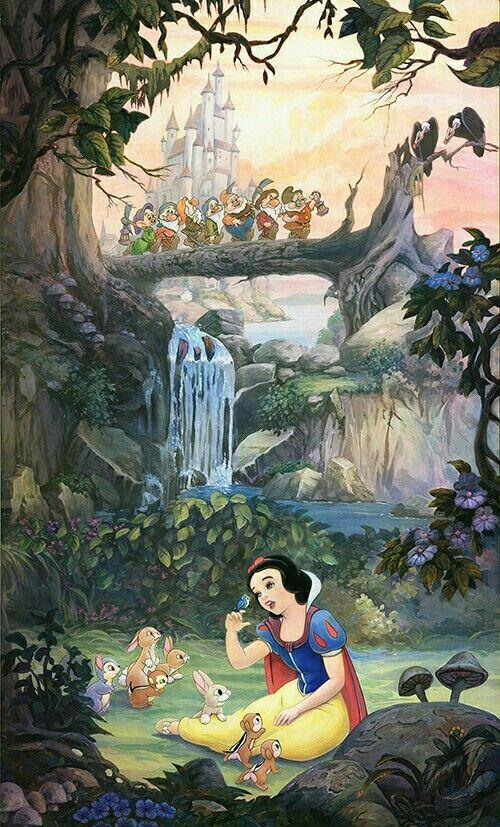 Epingle Par Le Lez Sur 3d Blanche Neige Dessins Disney Disney