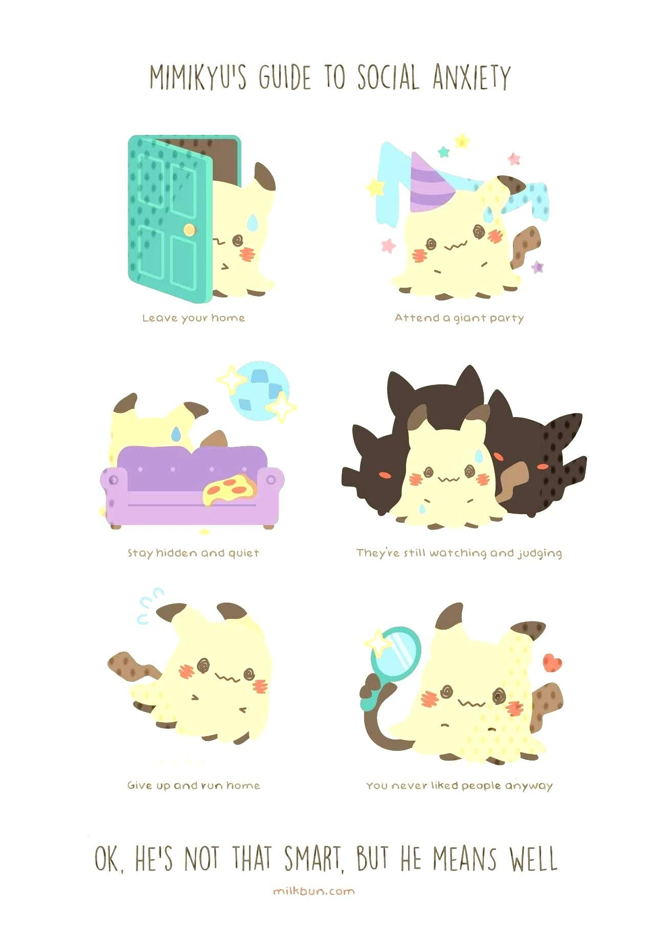 """Milkbun created a set of pins based on her """"guide to"""" Pokemon comics -"""