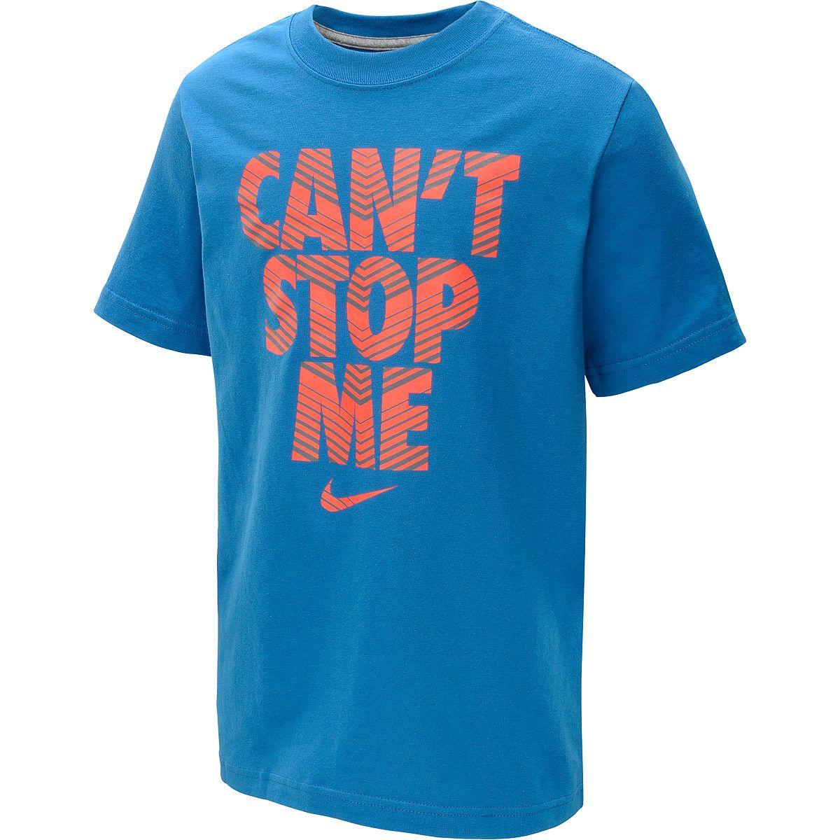 NIKE Boys' Can't Stop Me ShortSleeve TShirt