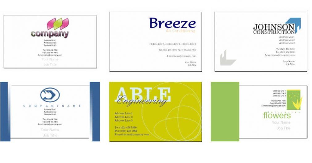 Kostenlose Online Visitenkarte Design Vorlage Plus
