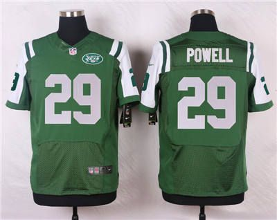 Hot Nike New York Jets #29 Bilal Powell Green Elite Jersey | New York  free shipping