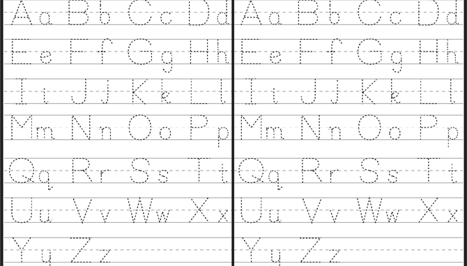 Capital And Small Letter Tracing Worksheet Letter Tracing Worksheets, Tracing  Worksheets Free, Tracing Letters