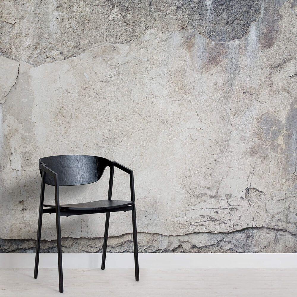 Distressed Concrete Wallpaper Mural Murals Wallpaper In 2020 Concrete Wallpaper Industrial Wallpaper Broken Concrete