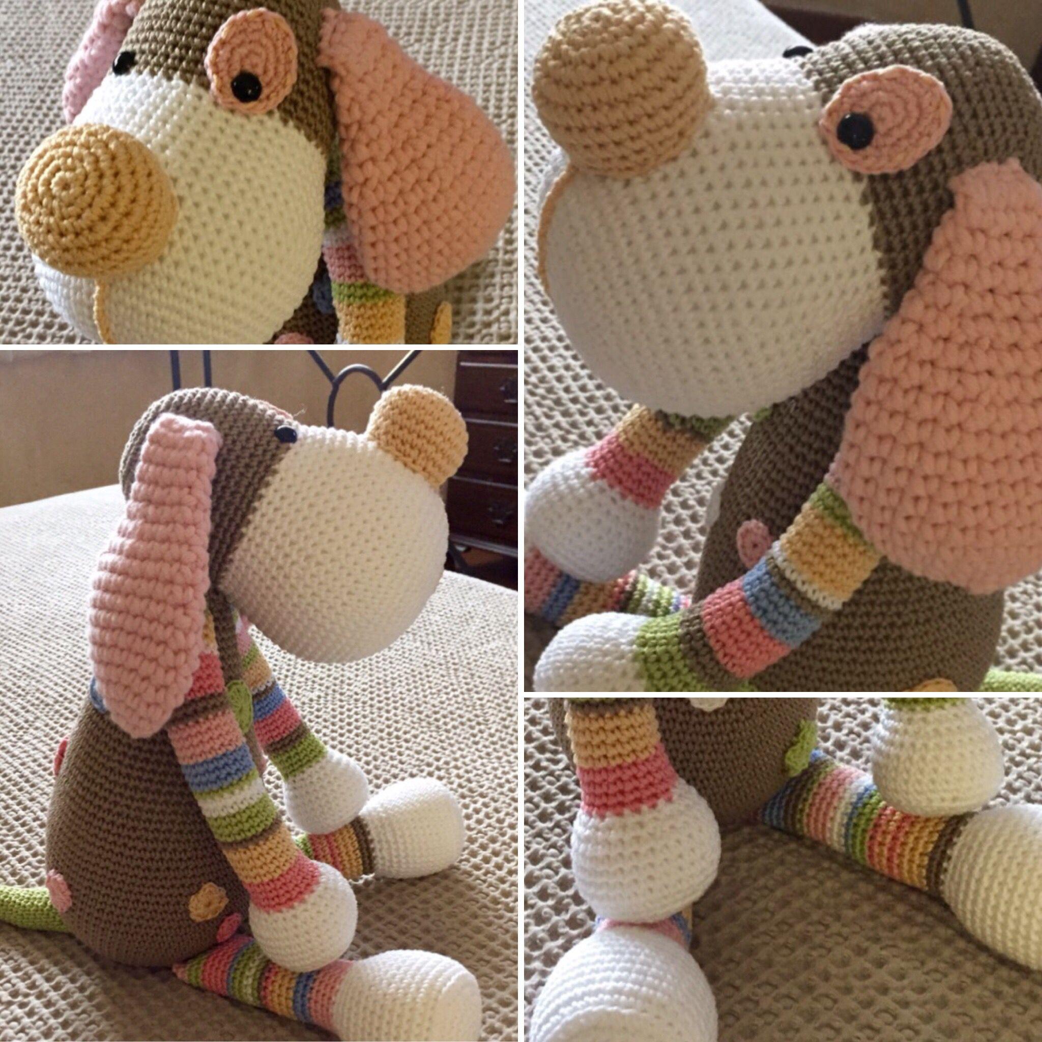 Dog Boris. Pattern by Stip & Haak. Handmade by Mica Crochet ...