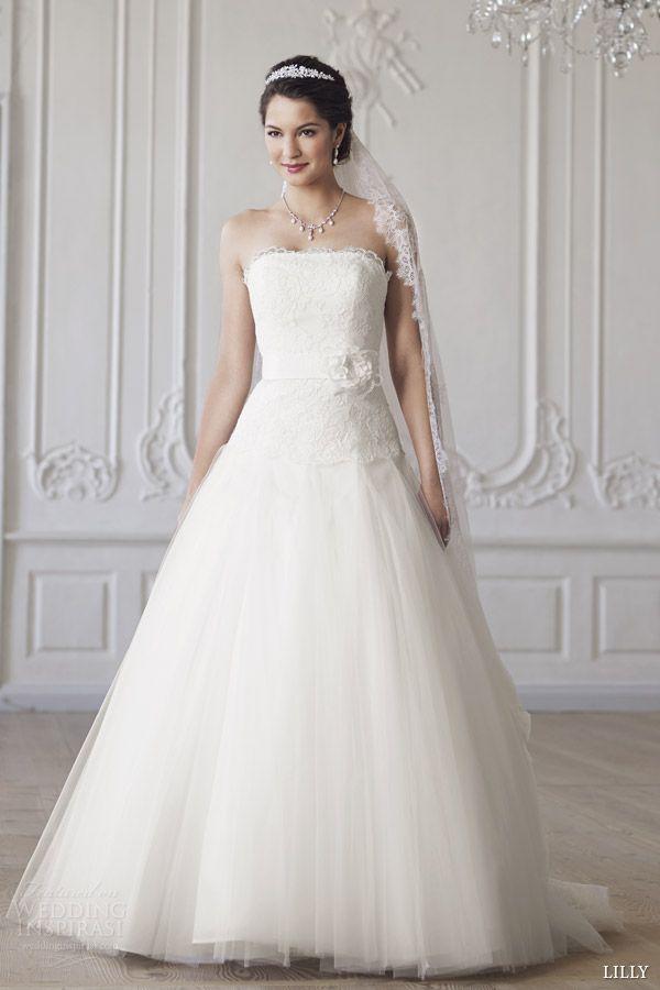 Lilly 2017 Bridal Strapless Wedding Dress 08 3273 Cr
