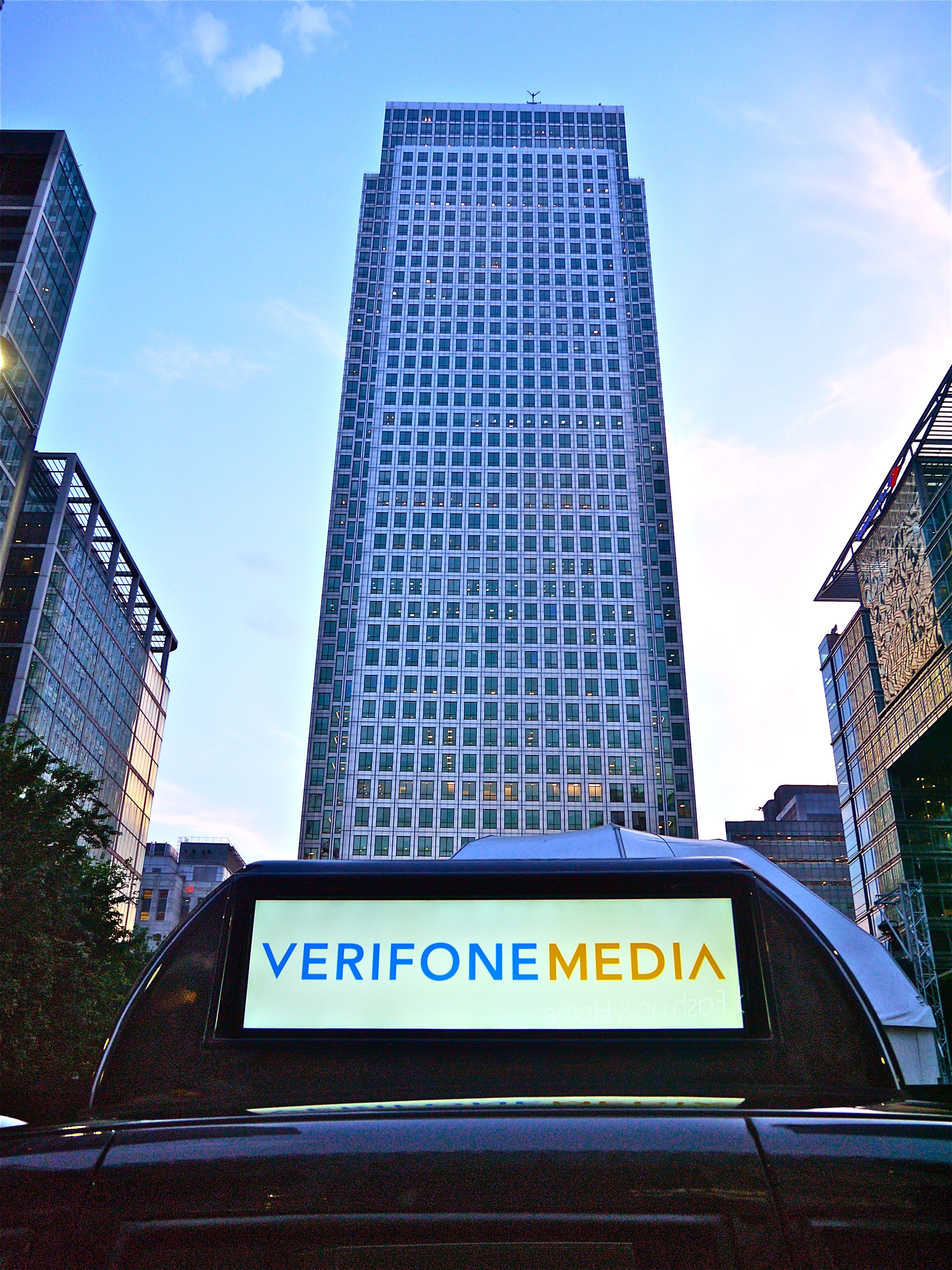 Eyetease and Verifone set to take the London Outdoor Media market by storm with digital taxitop media