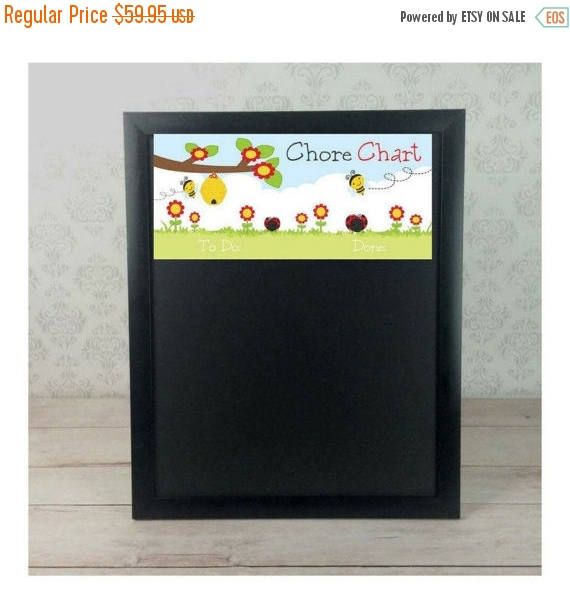 Magnetic C Chart Ladybug Job Chalkboards Custom Charts