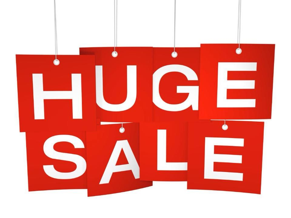 Annual Tent SALE!!!! TODAY thru Sunday! 50 percent or More
