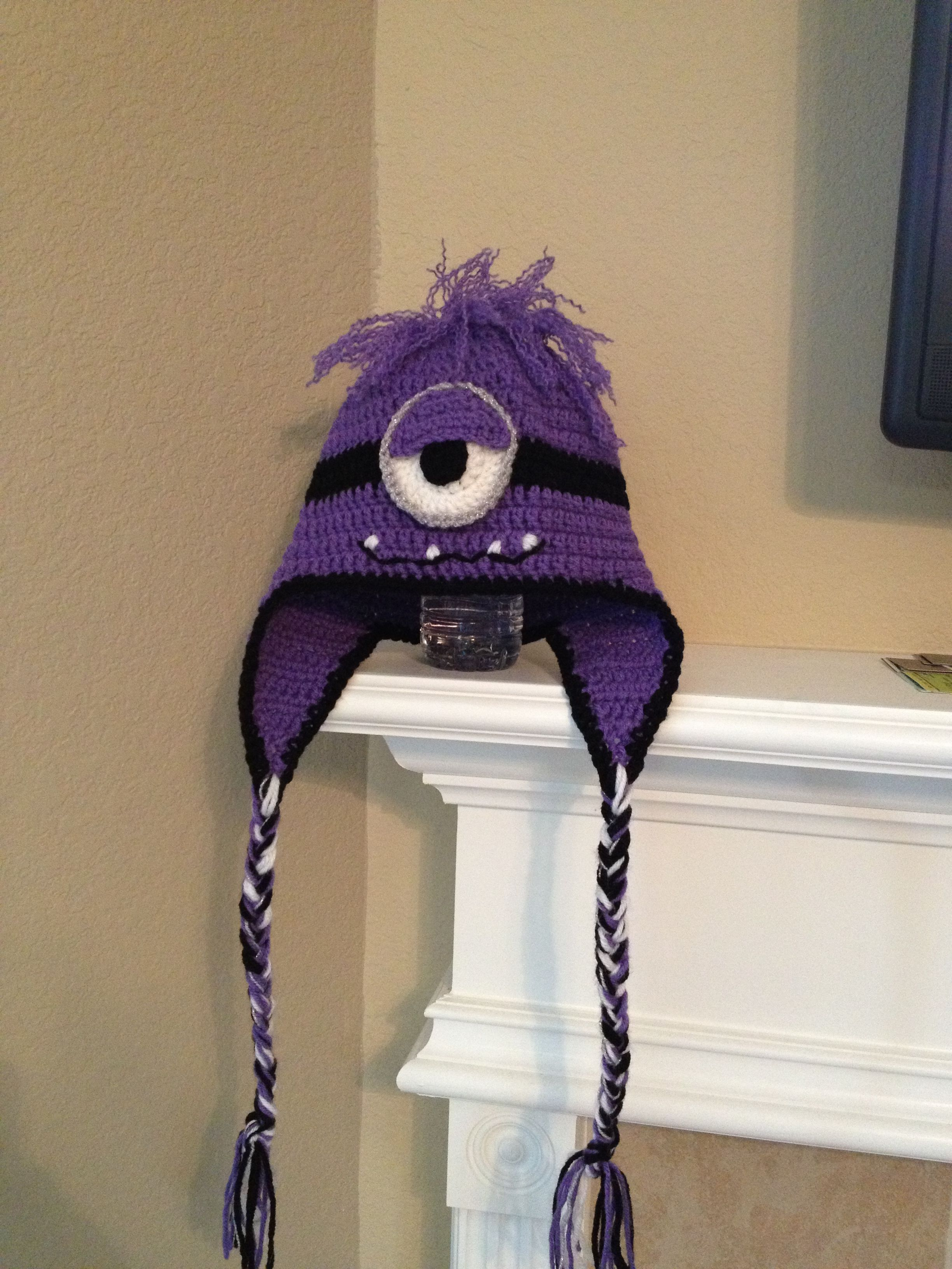 Purple Minion hat - want 2 of these. With or without teeth | Gorros ...