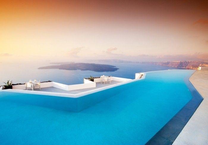 luxus pool schöne pools für garten   luxuriöse designs von pool, Garten und bauen