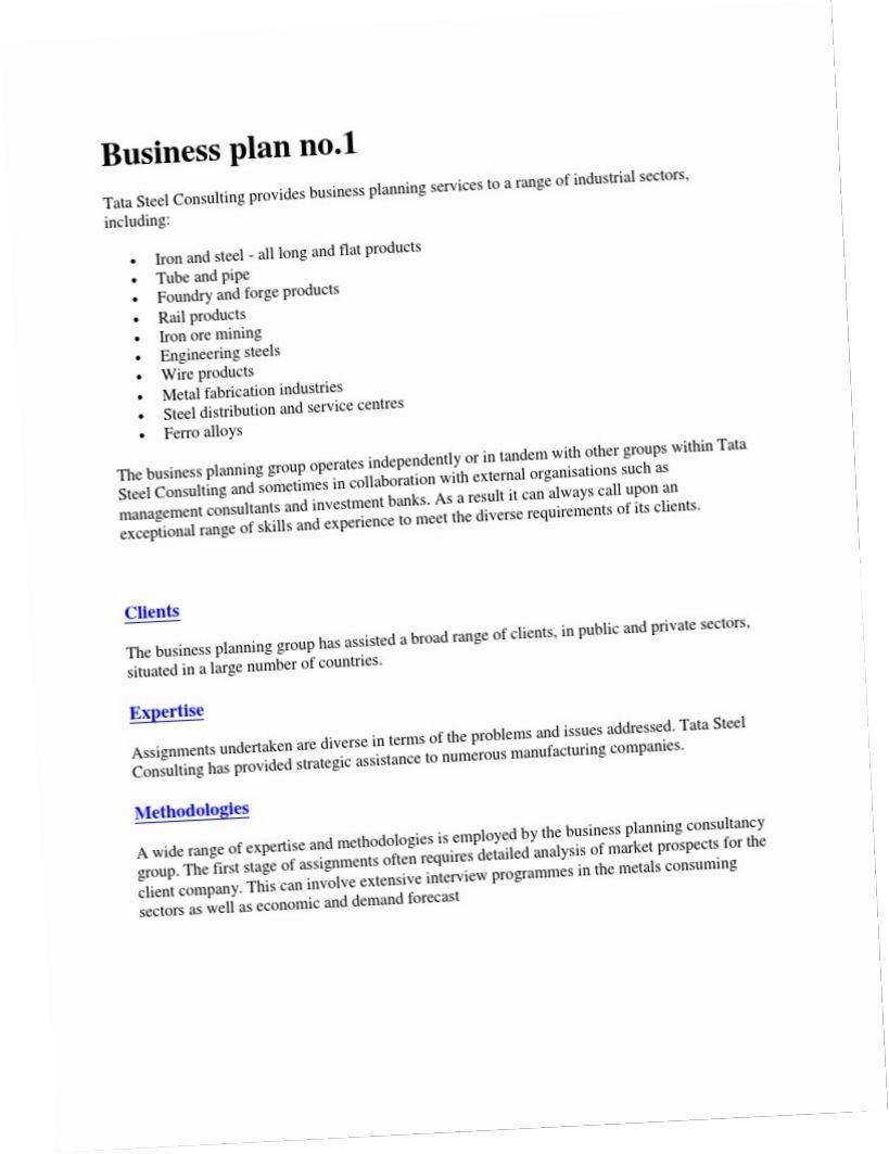 The exciting Consulting Company Business Plan Plans For Hr