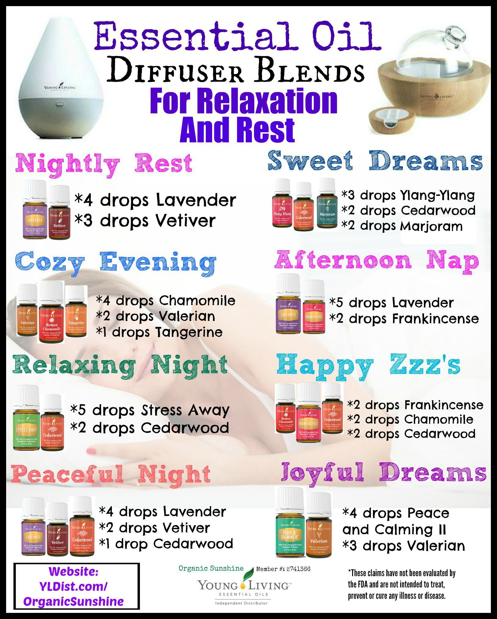 Diffuser And Oils Part - 31: Young Living Essential Oils: Diffuser For Rest And Relaxation