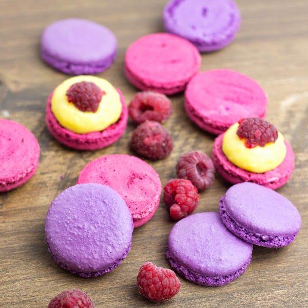 Objetivo: Cupcake Perfecto.: Macarons de vainilla y frambuesa
