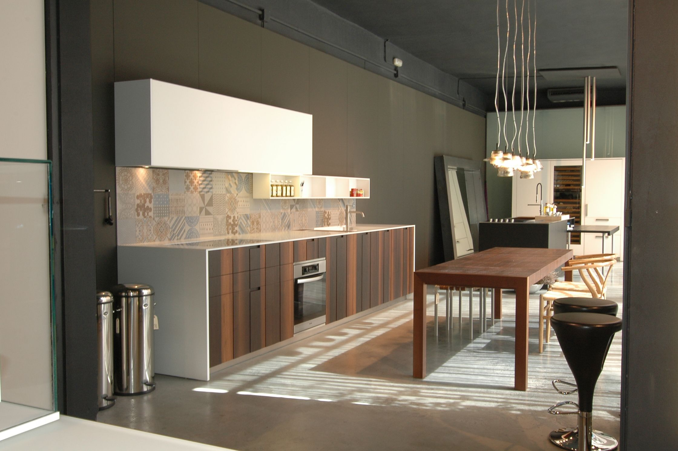 Aprile Wood 3D Boffi #kitchen.   Showroom in aquaquae.   Pinterest ...
