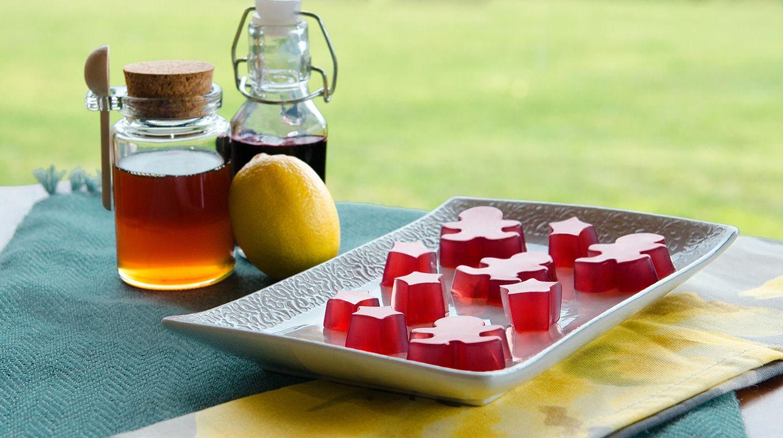 Elderberry gummies recipe with black elderberry syrup