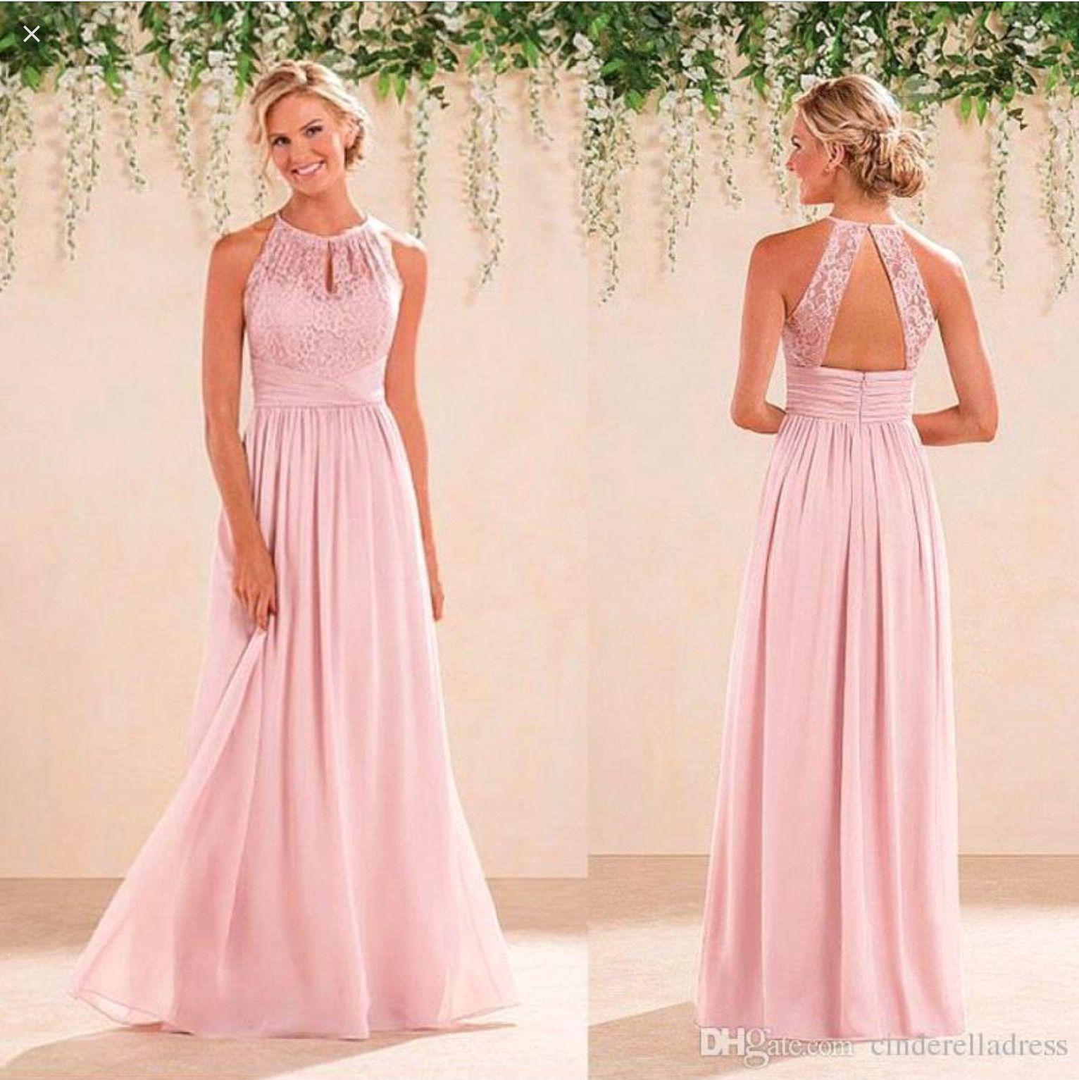 Peach dress for wedding guest  Pin by Ali Maloney on Sarahus wedding  Pinterest  Weddings
