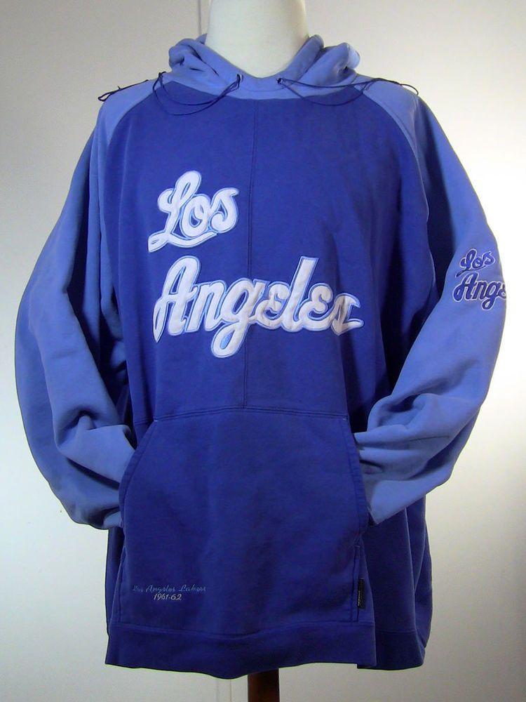 LAKERS Throwback Hoodie 4XLT XXXXL Los Angeles 196162