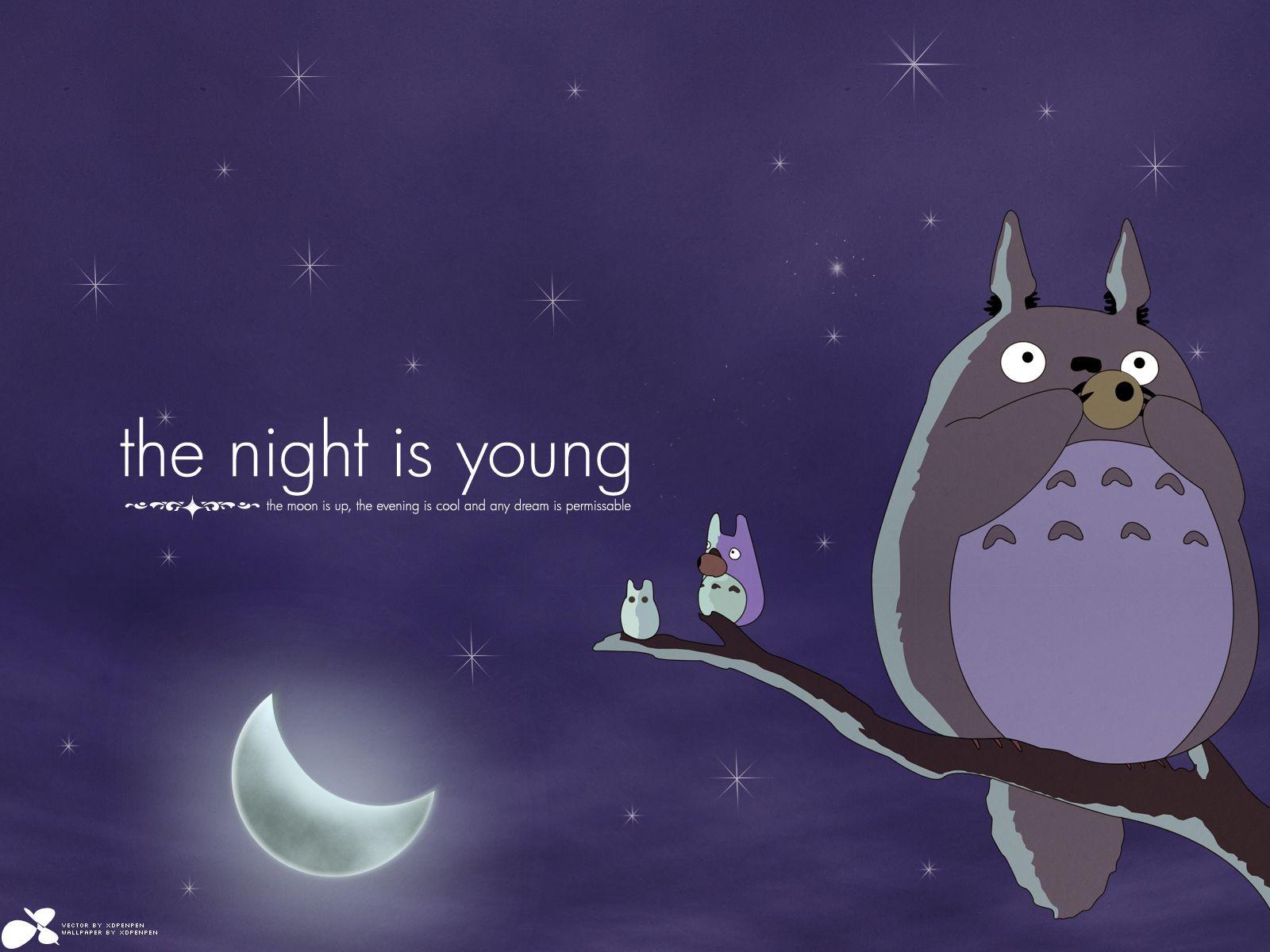 Totoro Wallpaper 511837 Wallbasecc