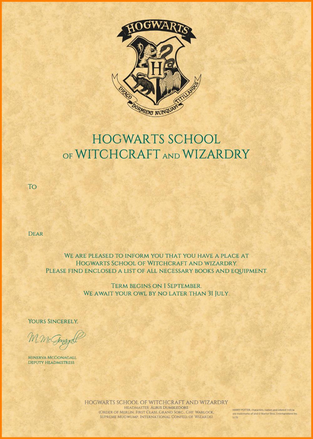 Harry Potter Acceptance Letter Template Plasticmouldings In Harry P Hogwarts Acceptance Letter Template Hogwarts Acceptance Letter Harry Potter Hogwarts Letter