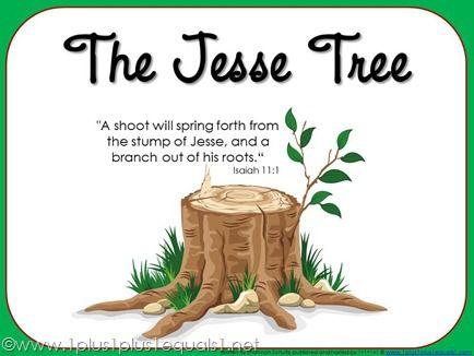 Free Jesse Tree eBook & Free Jesse Tree Ornaments | Troncos, Ramas y ...