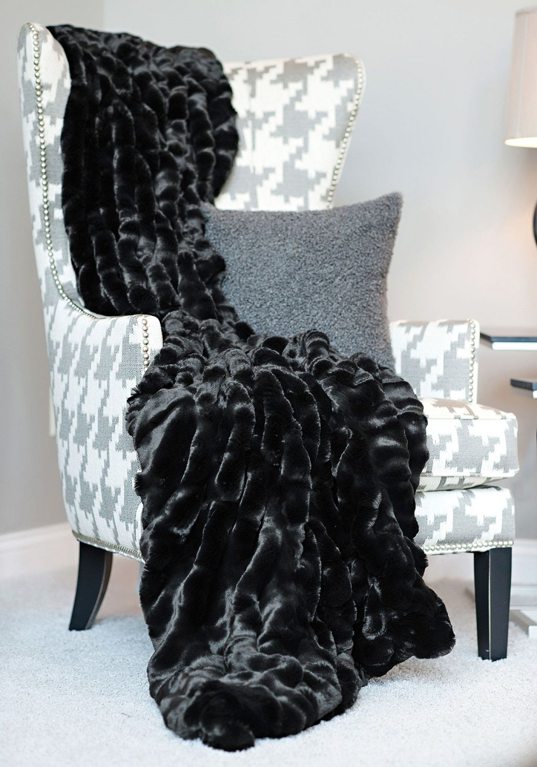Pin By Instyle Decor Hollywood On Family Room Luxury Blanket Luxury Throw Blankets Luxury Room Decor Decorative throws for sofas