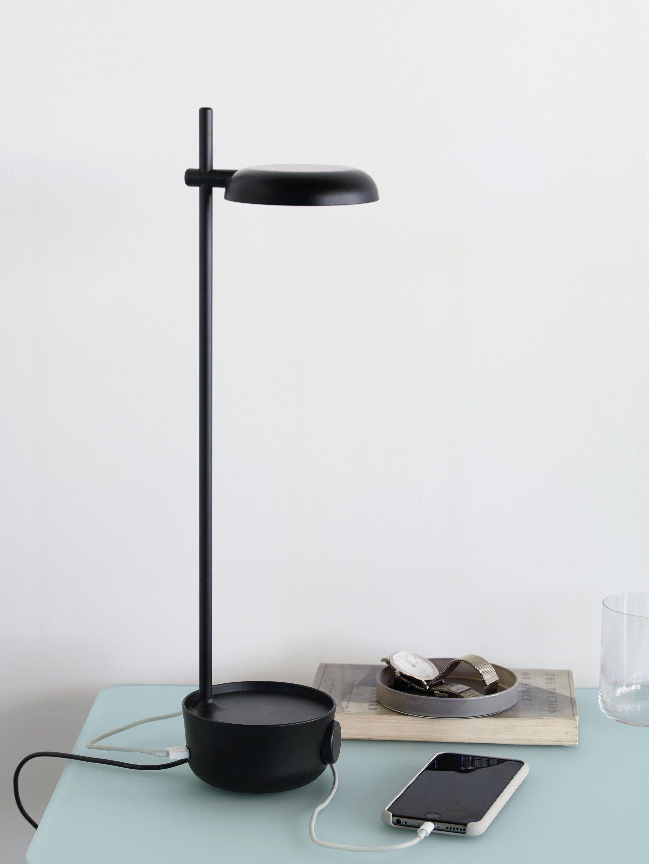 Focal Led Lamp With Usb Port In 2020 Modern Desk Lamp Lamp Bedroom Lamps