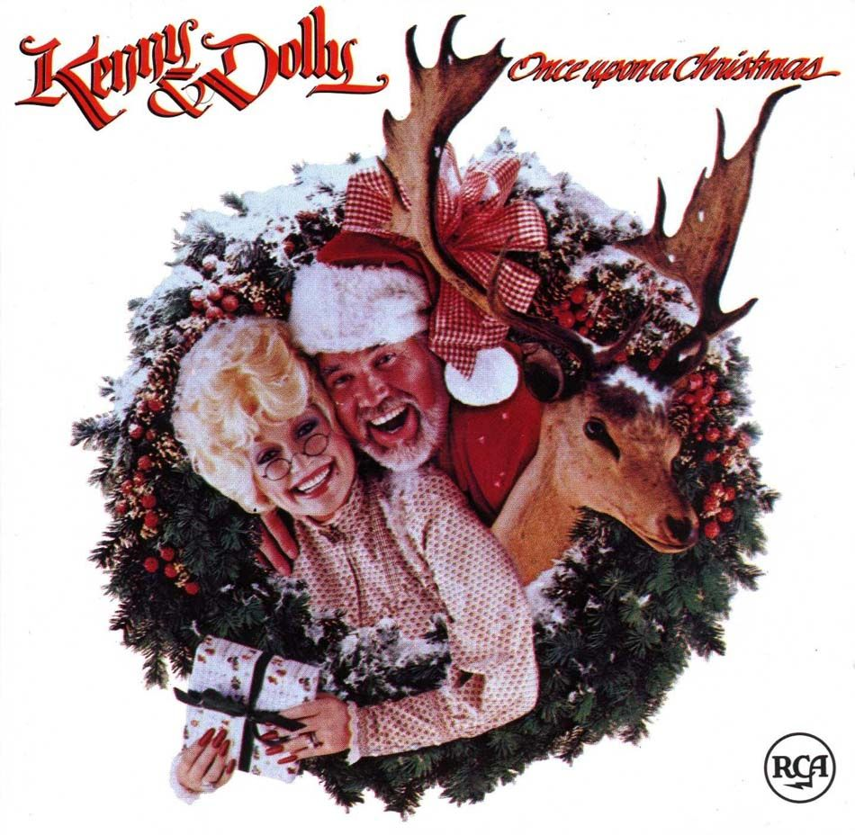 Kenny and Dolly - Once Upon A Christmas   Christmas Album Jackets ...