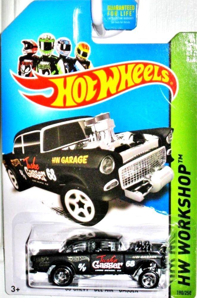 1955 Chevy Bel Air Gasser Hot Wheels 2014 Hw Workshop 190 250 Black Hotwheels Chevrolet Hot Wheels Toys Hot Wheels Hot Wheels Garage