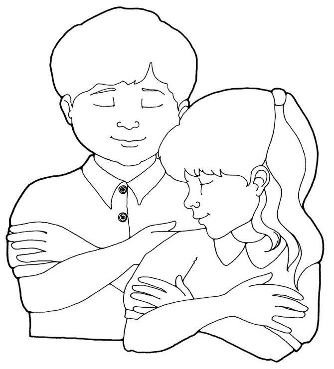 Lds Boy Praying Coloring Page Images & Pictures - Becuo | Primary ...