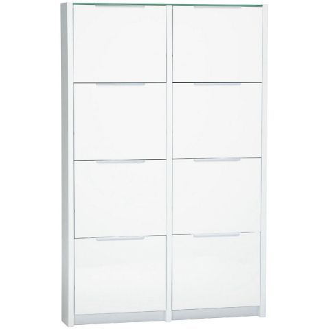 Berlin Large Shoe Cabinet In Gloss White Casafina Shoe Cabinet Large Shoes Cabinet