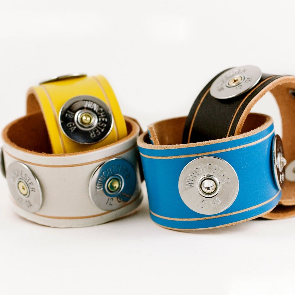 Colored Leather Cuffs