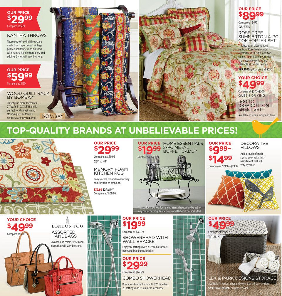 Tuesday Morning Thrilling Finds At Closeout Prices Have