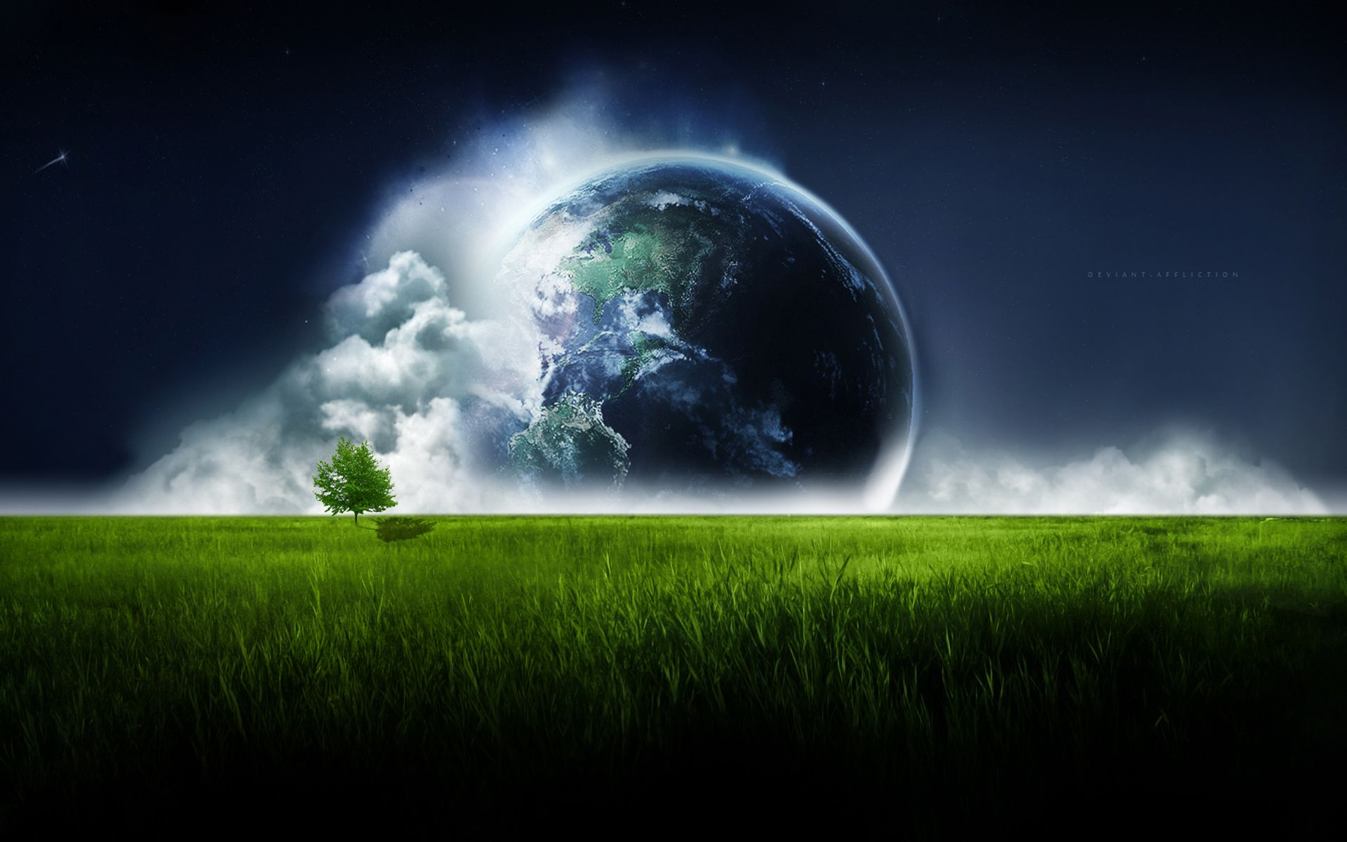 Planet earth day night space wallpaper x