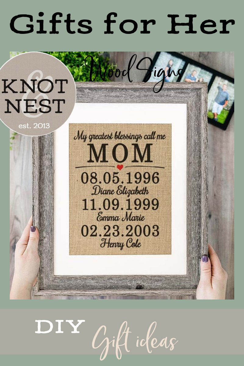 Personalized Mother Day Gifts For Mom From Daughter Framed Etsy